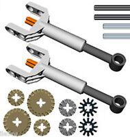 Lego Mini Linear Actuators Kit (piston,gears,technic,nxt,ev3,mindstorms,axles)
