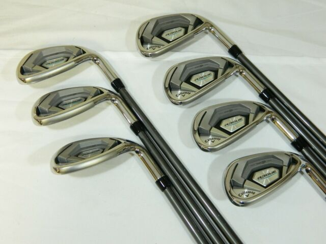 Callaway Rogue Iron set 5-SW Irons Aldila Synergy 60R Regular Graphite 5-PW+SW