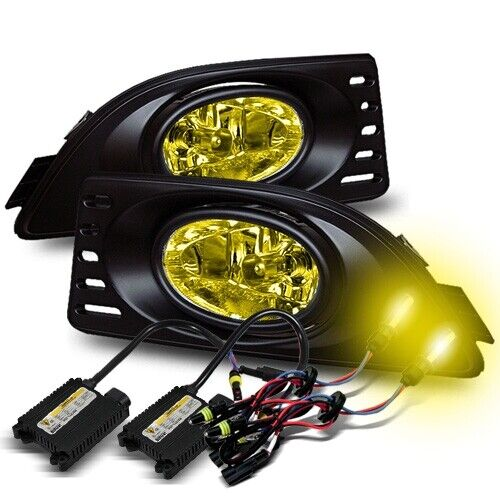 FOR 05-07 ACURA RSX USA FOG LIGHTS LAMP+HARNESS+SWITCH