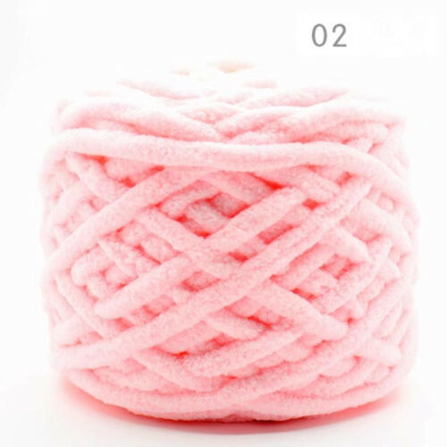 100G Super Chunky Single strand chenille cashmere Milk Knitted Crochet Wool yarn