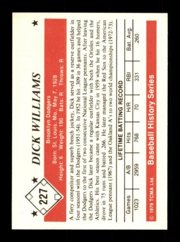 1979 TCMA The 1960s EX-MT//NM Pick From List All PICTURED