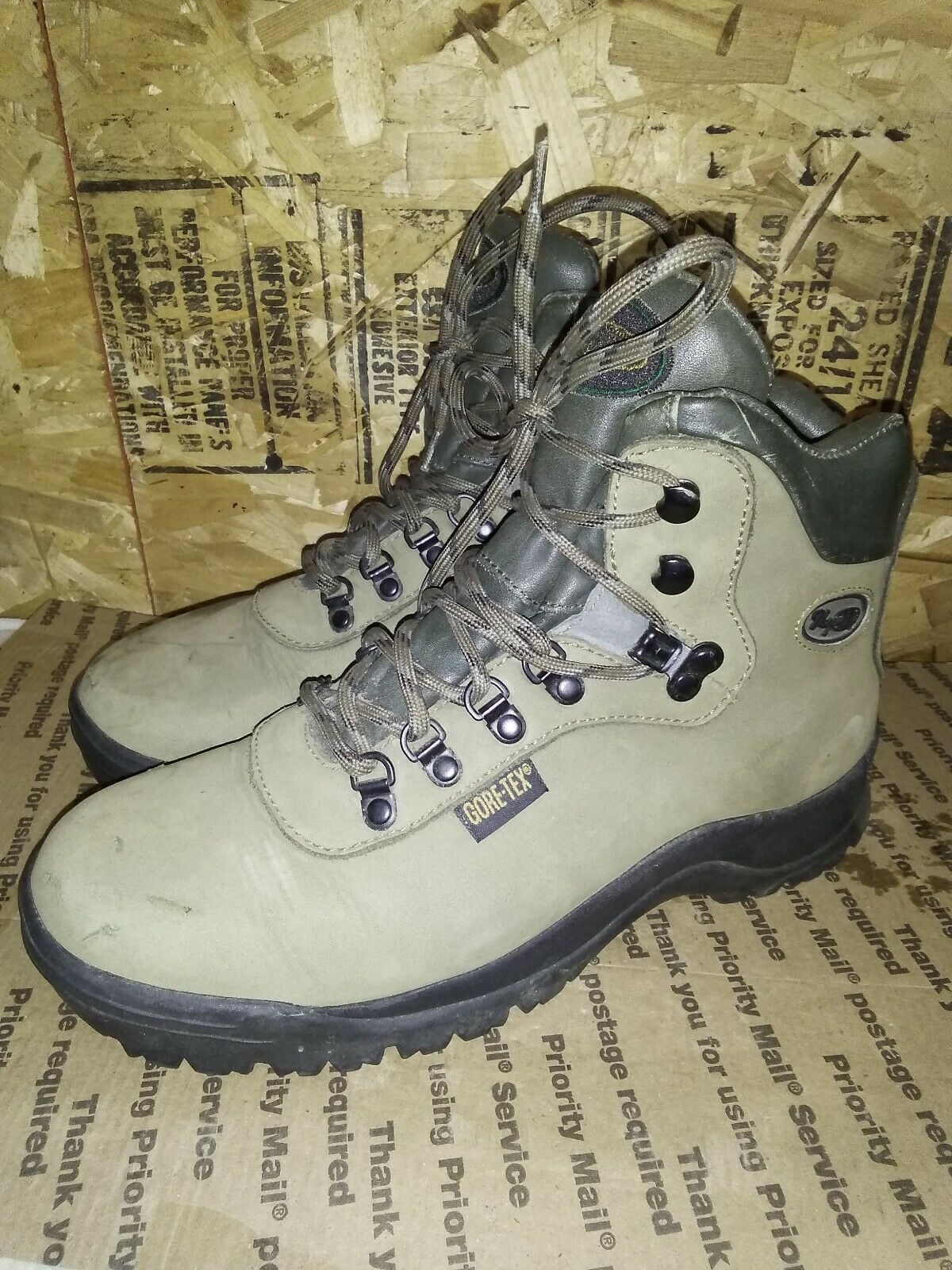 Vasque damen Skywalk Gore-Tex Insulated Backpacking Hiking Stiefel Olive 9.5M