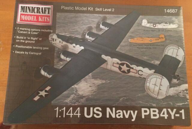 Minicraft 1:144 Scale WW2 USAAF B-29A Model Kit # 14682 New New Sealed