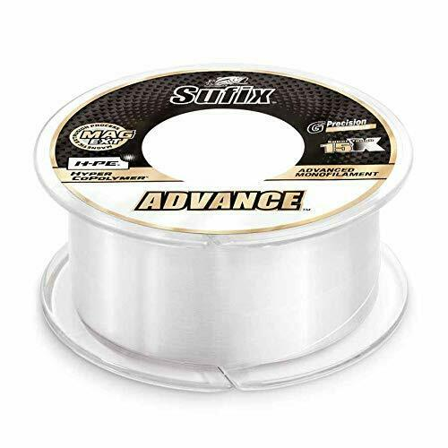 Sufix Advance Monofilament Line 330 Yards 15 Lbs Breaking Strength Clear for sale online