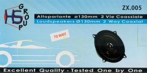 Coppia altoparlanti casse per Peugeot 106 dal 1991 al 1998 70 WATT 130 mm