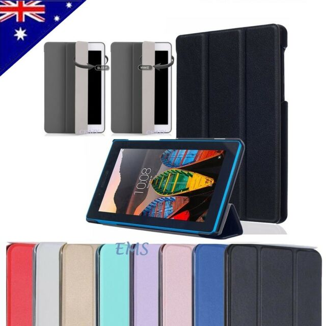 finest selection 721af c00c4 Smart Magnetic Stand PU Leather Case Cover for Lenovo Tab 3 7