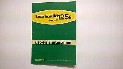 Fotocopia Del Libretto Uso E Manutenzione Lambretta 125 Li