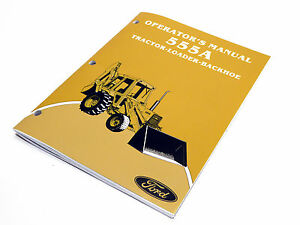 free ford 550 backhoe operators manual