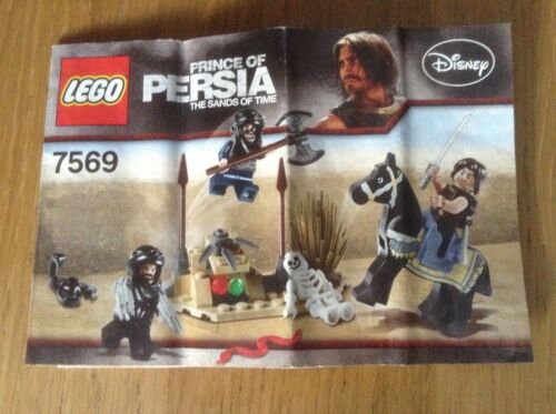 Lego Prince Of Persia 7569 Desert Attack free postage instructions only