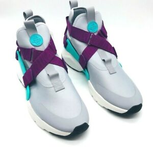 Nike-Womens-Air-Huarache-City-Running-Shoes-Gray-AH6787-006-Mid-Top-14-5-M-New