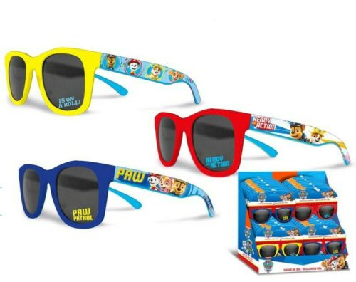 gelb oder blau MIT UV Filter Paw Patrol Kinder Sonnenbrille rot