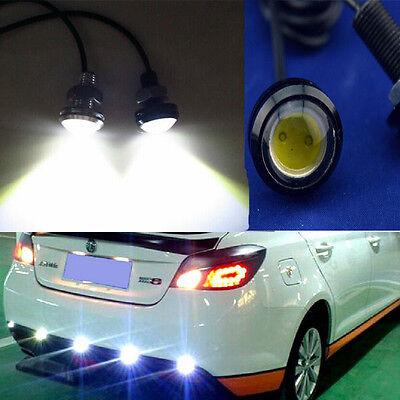12V 10W LED Car Daytime Running Light DRL Head Lamp Eagle Eye White Light H8