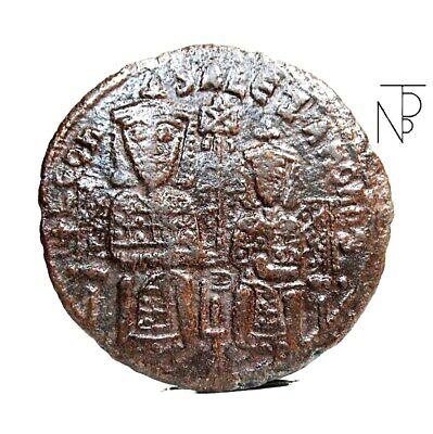 Impero Bizantino Follis leon Vi-alexander