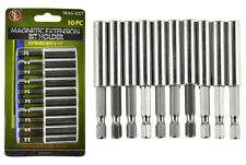 1/4 Hex Shank Magnetic Bit Extension Holder for Power Tools (PACK OF 10)