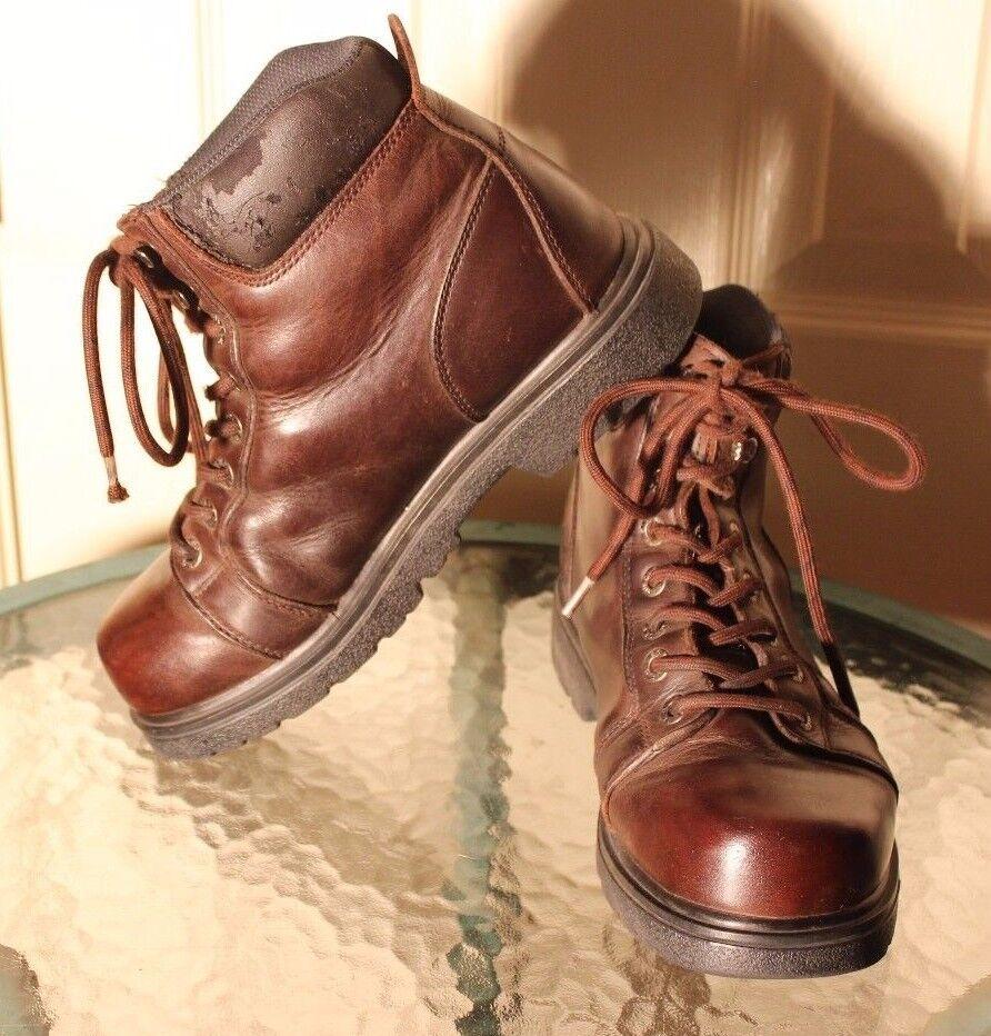 Wolverine   Herren OIL Braun WORK Stiefel Ankle OIL Herren RESISTANCE Leder Größe 7.5M 9b7c1f