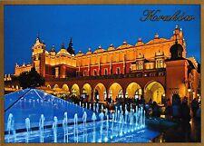 postcard post card POLAND KRAKOW Rynek Glowny Sukiennice #KR37