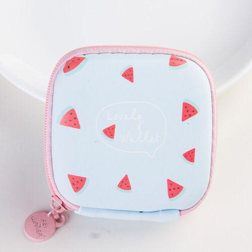 Cute Waterproof Headset Carrying Case Box Earphone Earbud Storage Pouch Bag New