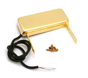 Gold-Neck-End-Mount-Pickup-for-Hollow-Body-Jazz-Box-Guitar-PU-NMJ-G