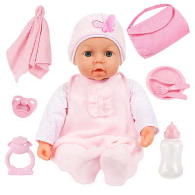 Piccolina Magic Eyes 46 cm Babypuppe Funktionspuppe von Bayer 94694AD