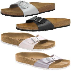 BIRKENSTOCK MADRID BIRKO FLOR Schuhe Damen Sandalen Pantoletten Hausschuhe Clogs