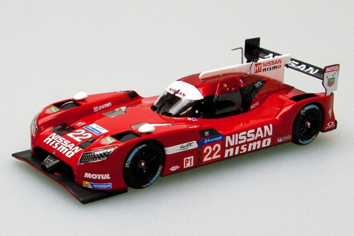 EBBRO 45255 1 43 Nissan GT-R LM Nismo Le Mans 24h  22 rosso