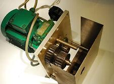 MOTEUR MOTOR Réducteur variable variateur LEROY SOMER 3ph 250W MVL02 160/940 Tmn