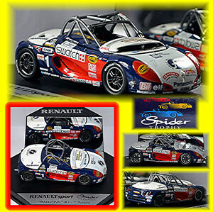 Toys, Hobbies 2019 New Style Renault Spider Panasonic T.rustad #1 Renault Sport Spider Trophy 1:43 Model Building