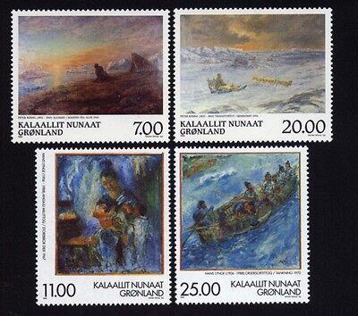 Grönland Grönland 325/26,336/37 Gemälde Postfrisch