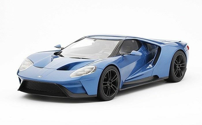 Top Speed 2015 Ford GT North America International Auto Show bluee 1 18 New Item