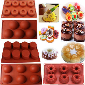 Silicone-Cupcake-Mold-Muffin-Chocolate-Cake-Candy-Cookie-Baking-Mould-Pan-Tools