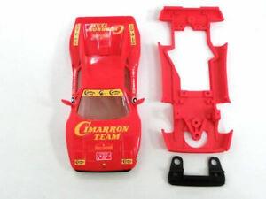 Chasis-Ferrari-GTO-Hybrid-completo-Mustang-Slot-Design-compatible-Scalextric-SCX