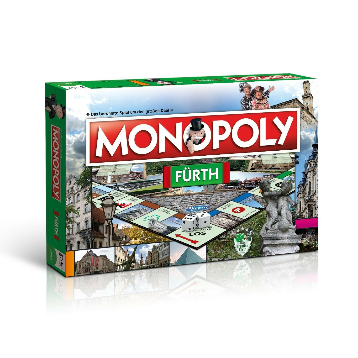 Monopoly Fürth Stadtedition City Edition Board Game Party Game Game New