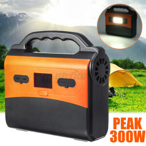 200W-Peak-Solar-Power-Inverter-Generator-Portable-Energy-Storage-Battery-Charge