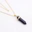 Piedras-preciosas-naturales-talladas-con-punta-hexagonal-Reiki-Chakras-Colgante-de-curacion-Collares miniatura 18