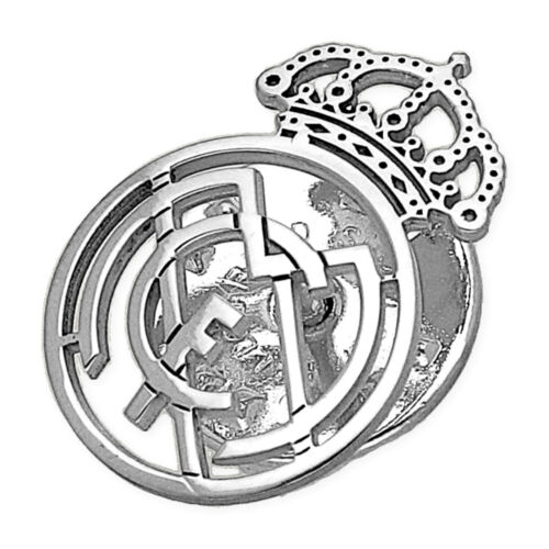 Real Madrid Pin Plata de Ley 925 Unisex
