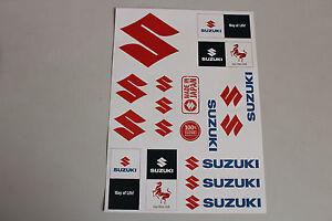 Sticker-Suzuki-Aufkleber-Stickerbogen-A4-Sticks-Aufkleberset-Bogen