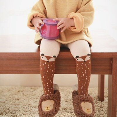 Toddler Baby Kids Girl Cotton Fox Tights Socks Stockings Pants Hosiery Pantyhose