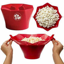 Microwave Silicone Magic Household Popcorn Maker Container Healthy Cook Tools CY