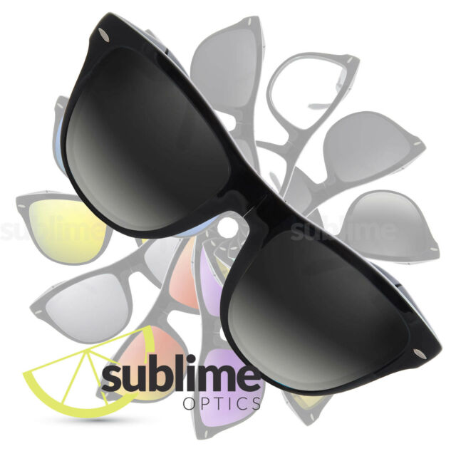 888f7378a POLARIZED Gradient Replacement Lenses for Ray Ban Folding Wayfarer RB4105