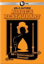Alice's Restaurant: 50th Anniversary Concert * by Arlo Guthrie (DVD, Mar-2016, PBS Records)