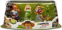 Disney (7) MUPPETS FIGURINE PLAYSET Cake Topper TOYS Kermit Animal Miss Piggy!