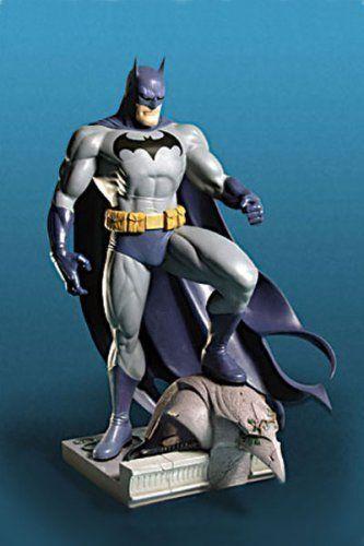 Batman  pleine taille  porcelaine statue  Jim Lee  Limited Edition 6000  DC DIRECT  Comme neuf IN BOX