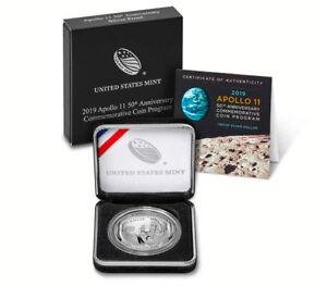 2019-Apollo-11-50th-Anniv-Commemorative-Silver-Dollar-Proof-OGP-SKU56540