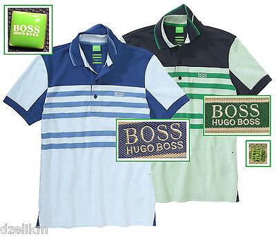 NWT Hugo Boss Green Label by Hugo Boss Fancy & Stylish Cotton-piqué Polo  Shirt
