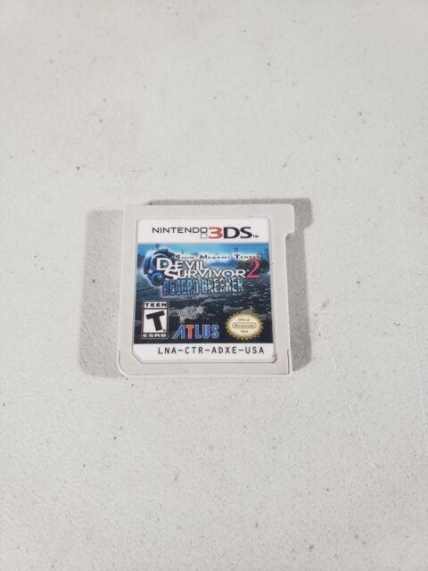 Shin Megami Tensei: Devil Survivor 2 Record Breaker (Nintendo 3DS, 2015)