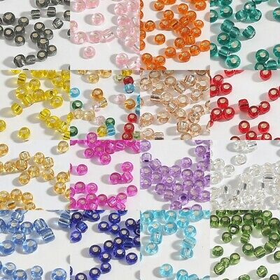 Wholesale Czech Glass Seed Spacer Beads Bracelet Necklace Jewelry Making 2-4mm