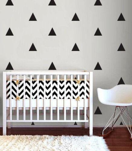 Triangle autocollant mural baby nursery stickers kid enfants mur autocollants vinyle art