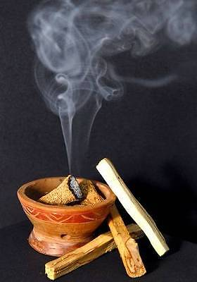 PALO SANTO INCENSE  10 Sticks Aromatic Smudging HOLY WOOD 4 + Inches Each