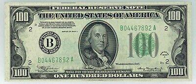 NICE CRISP UNCIRCULATED 1934 $50.00   COPY FR BANKNOTE!