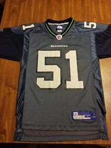 Seattle Seahawks  51 Lofa Tatupu Football Reebok NFL Jersey Womens ... 6506b68da